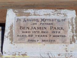 Taken at the Charleville Cemetery, Charleville, Queensland, Australia and sourced from ACI - Benjamin Park.